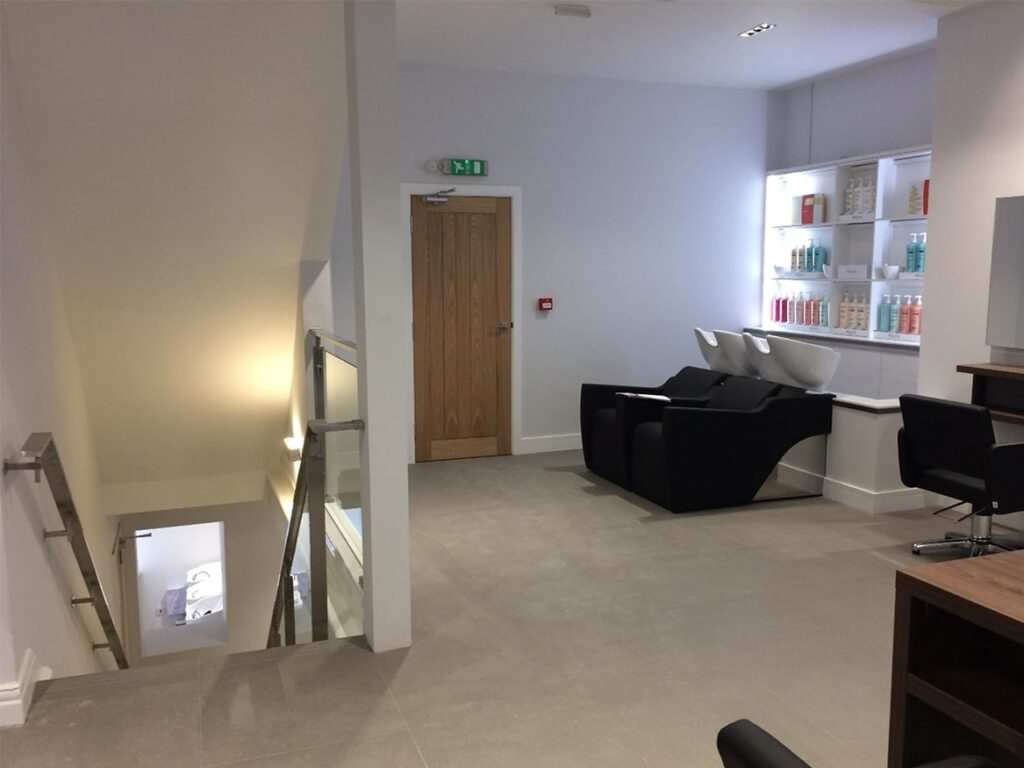 Newcastle Hairdressers shop fitting