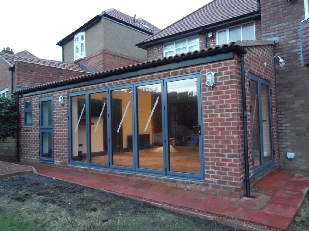 Side and rear extension