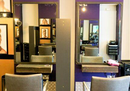April Egan Hairdressing, Main Salon